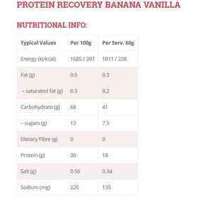 High5 Protein Recovery Drink Box 9x60g Banana-Vanilla